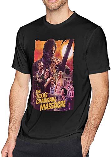 Texas Chainsaw Massacre Man Fashion Shirt Summer Cotton T-Shirt Home Outdoor