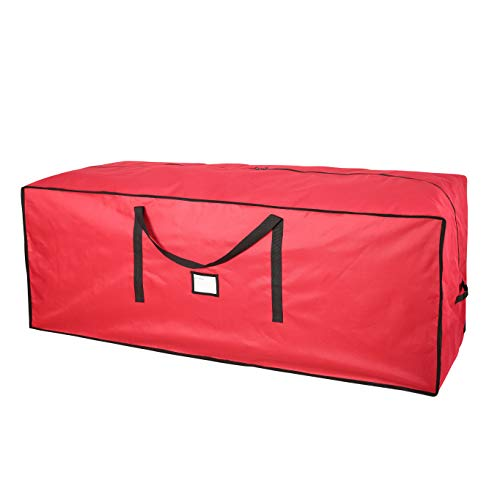 """Sattiyrch Christmas Tree Storage Bag,Heavy Duty 600D Oxford Xmas Holiday Extra Large Container up to 9"""" Artificial Disassembled Trees,65"""" x 23"""" x 23"""""""