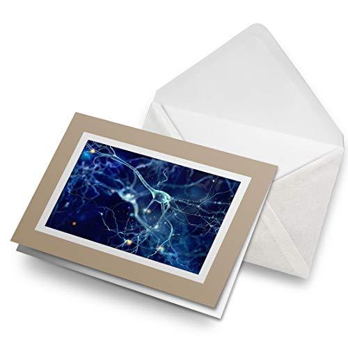 Awesome Greeting Cards Biege (inserto) – Cells Biology Science Doctor en blanco tarjeta de felicitación de cumpleaños para niños y niñas #3181