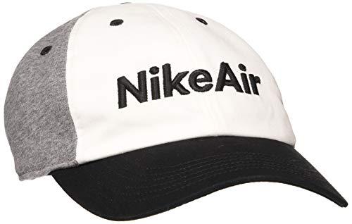 NIKE Y Nk H86 Cap Air Gorra, Unisex niños, Black/White/Carbon Heather/(Black), MISC
