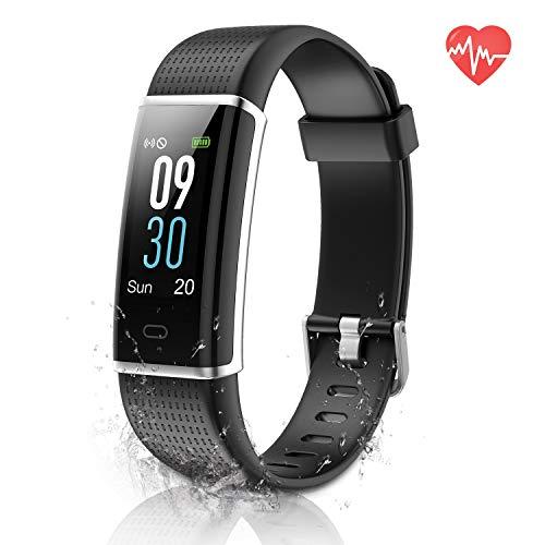 ESOLOM Orologio Fitness Tracker, IP68 Impermeabile Activity Tracker Colorato Schermo Smart Watch Cardiofrequenzimetro Contapassi da Polso con 14 modalità di Allenamento per Donna Uomo iOS Android