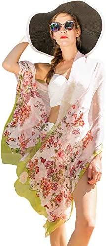 DANA XU 100 Pure Silk Large Size Pashmina Shawls and Wraps Women Scarf Pink05 product image