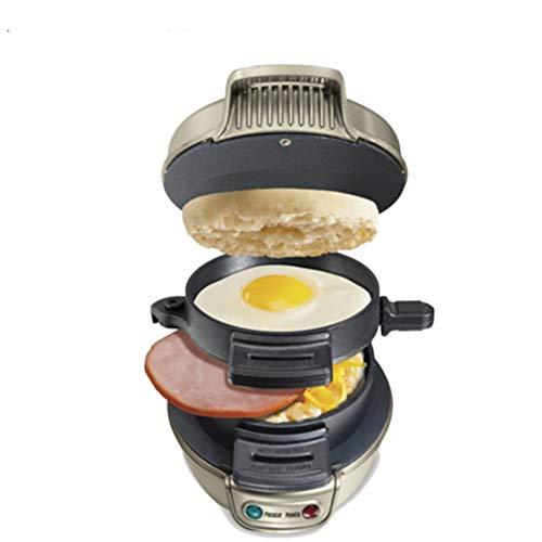 SUUUK Burgerpresse Burger Maker Mit lebensmittelechtem und antihaftbeschichtetem Material beschichtet, ideal zum Pressen von Pastetchen und als Mini-Bratpfanne,176x167x140mm