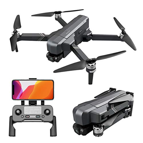 Professional Drone 4K GPS 5G WiFi FPV Cámara HD de 2 Ejes Gimbal 50x Zoom RC Drone Quadcopter 30 Min Long Long Tiempo de Vuelo, 1.5 km de Largo, WiFi FPV Video en Vivo