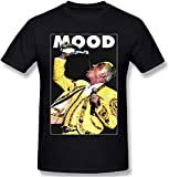 Photo de Mood Vicente Fernandez t Shirt for Mens Black Short Sleeve Basic Tees Top
