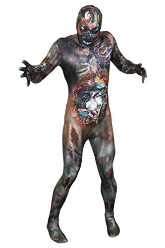 Zombie Skinsuit GANZKÖRPERANZUG KOSTÜM DER Walking Dead ODER DER LAUFENDEN Toten =ERHALTBAR NUR VON ILOVEFANCYDRESS®=NUR ZU ERHALTEN VON Uns EIN ORIGINALLER Anzug IN 5 VERSCHIEDENEN GRÖßEN=XXLarge