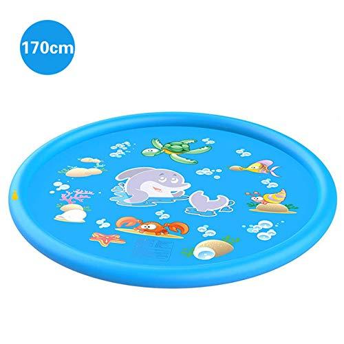 gousheng Schwimmbad 170/150 / 100Cm Schwimmbad PVC-Planschbecken Wasserspielmatte Sommerspielmatte