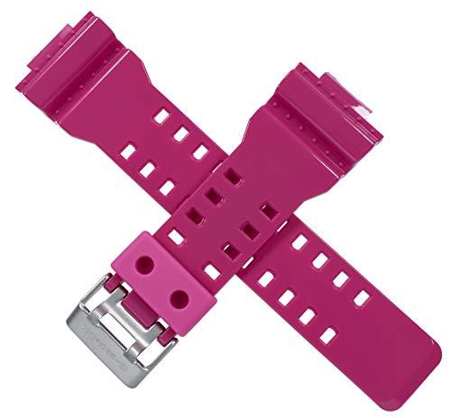 Casio 10355057 - Correa de reloj para GA-100 GA-110B-4 GA 100 110, color rosa
