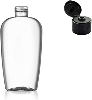Pack 15 bottles empty refillable 125ml - 4.22oz -Plastic Squeezable
