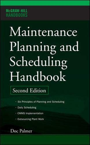 Top maintenance planning and scheduling handbook for 2020