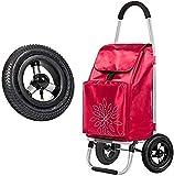 ZBYY Carros de la compra, carro de la compra Escaleras de escalada plegable carro de la compra portátil pequeño carro viejo carro equipaje mano remolque compras