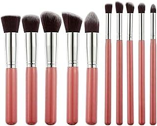 TYA GIRL Eyeshadow Makeup Brush Set, Pink (Set Of 10), 100 g