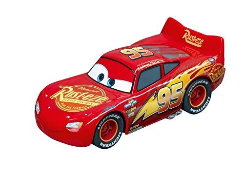 Carrera Disney Pixar Cars Lightning McQueen Rennauto für alle Carrera GO!!! Bahnen | Zusätzlicher, roter Rennwagen als Erweiterung für Bahnen im Maßstab 1:43 | Für Kinder ab 6 Jahren & Erwachsene