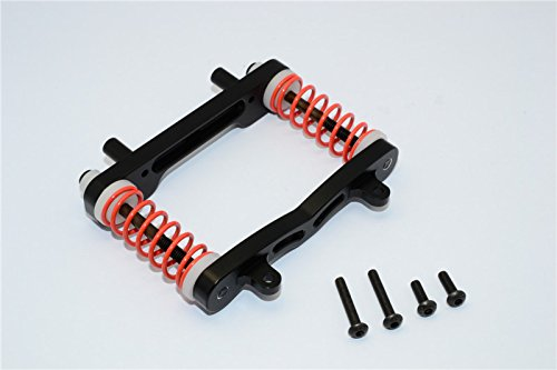 GPM Axial Yeti XL Monster Buggy Upgrade Pièces Aluminium Front Bumper Absorber - 1 Set Black