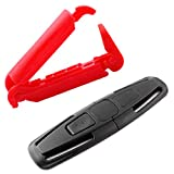 2 Pack Car Seat Chest Harness Clip and Car Seat Safety Belt Clip Buckle for Baby Safety