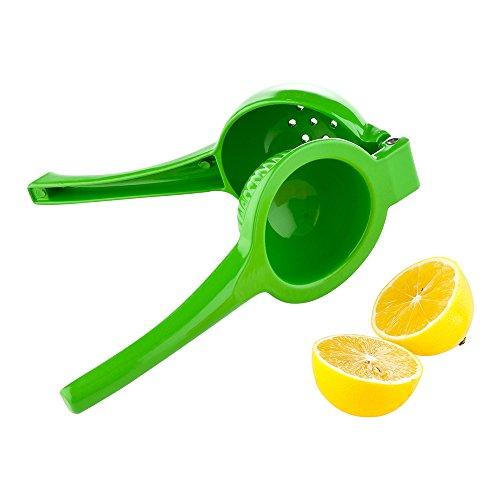 Espremedor de frutas cítricas Met Lux, 1 espremedor de limão premium – alça fácil de segurar, design interligado, espremedor de alumínio portátil para espremer limões – Utensílios para restaurantes