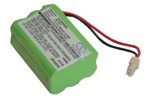 vhbw NiMH Akku 700mAh (7.2V) für Hundehalsband, GPS Receiver Dogtra Transmitter 1100NC, 1200, 1600, D500B, D500T, RRD, RRS wie BP15RT, BP-15RT.