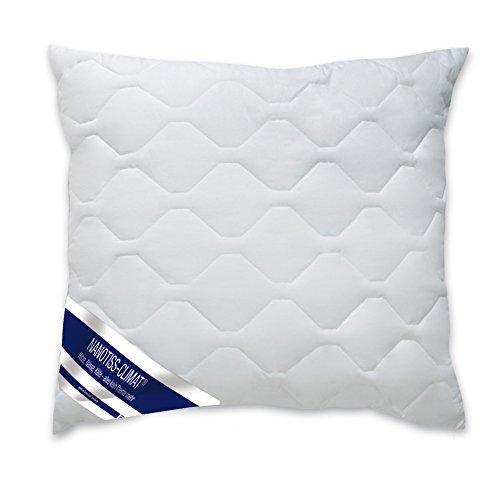 Haus und Deko Kopfkissen Mikrofaser Füllkissen Kissenfüllung 80x80 cm Nanotiss Climat Kissen in Weiß