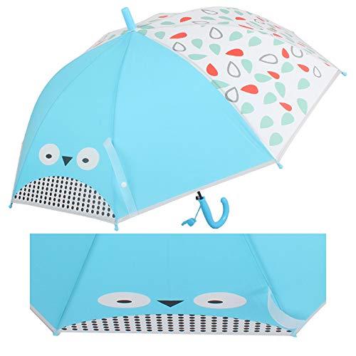 Cartoon Anime paraplu Sorriso dier kinderen paraplu doorzichtige paraplu basisschool milieuvriendelijk transparant paraplu automatische paraplu smiley kinderparaplu