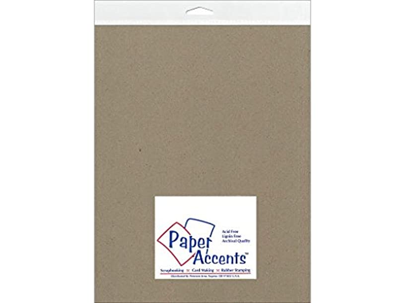 Accent Design Paper Accents Chipboard 8.5x11 ExtraHeavyNat Chpbrd8511ExtraHeavy