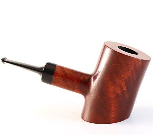 Mr. Brog Cherrywood Tobacco Pipe - Model No: 301 Cherrywood Pecan - Pear Wood Roots - Hand Made