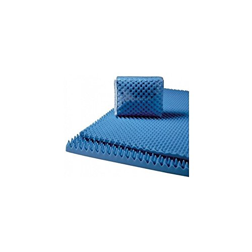 Convoluted Foam Mattress Pads Size: King, Thickness: 2