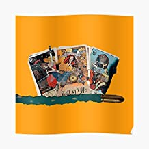 Hopeless Fountain Kingdom Tarot Cards Post - For Office Decor, College Dorm, Teachers, Classroom, Gym Workout And School Halloween, Holiday, Christmas Party ! Great Inspirational Wall Art Poster.