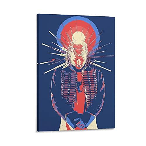 rongtao Vald Rapper Pósters para habitación Póster decorativo de lienzo para pared, sala de estar, dormitorio, 30 x 45 cm