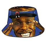 Photo de Dababy Baby on Baby Chapeau de pêcheur Unisex Bucket Hat Vintage Fisherman Hats Reversible Packable Cap