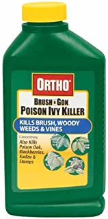 Ortho 0432960 Max Poison Ivy Tough Brush Killer Concentrate Bottle, 32-Ounce