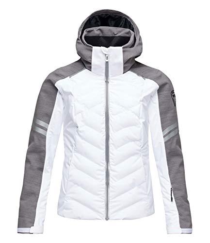 Rossignol Damen Skijacke Winterjacke Courbe Jacket RLHWJ51, Farbe:Weiß, Größe:L, Artikel:-100 White
