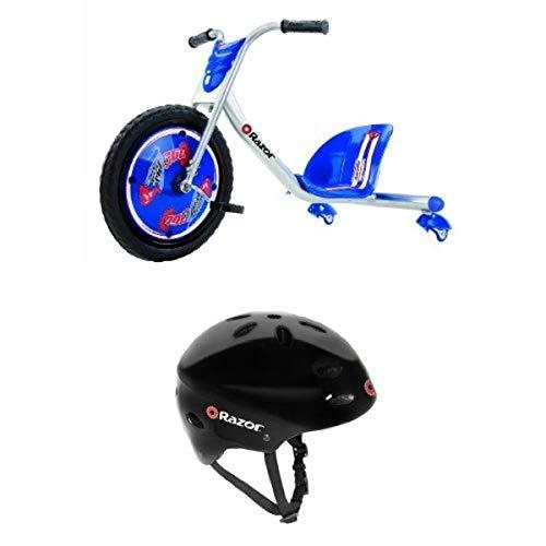 Razor RipRider 360 Caster Trike, Blue and