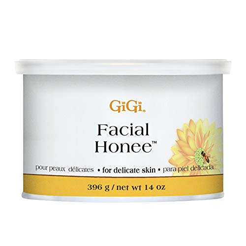 GiGi Facial Honee Hair Removal Wax for Delicate Skin 14 oz