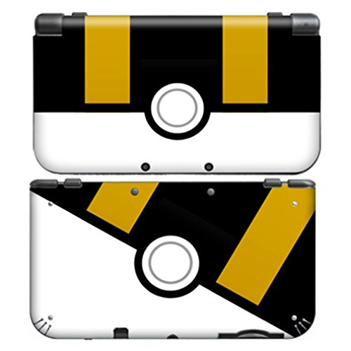 POKEBALL ULTRA BALL for New Nintendo 3DS XL Skin Vinyl Decal Stickers (New 2ds Xl Vs New 3ds Xl)