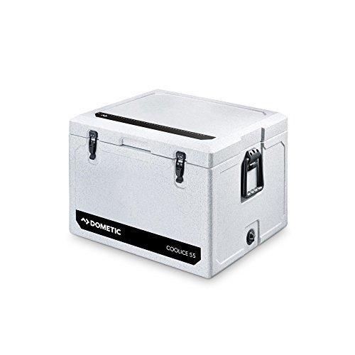 Dometic Cool-Ice WCI 55, tragbare passiv-Kühlbox/Eisbox, 55 Liter, für Auto, Lkw, Boot, Camping, Ideal für Angler und Jäger