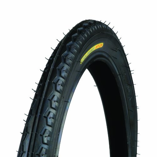 Unitec 60011 - Cubierta para Bicicleta de Paseo (16 x 1,75), Color Negro