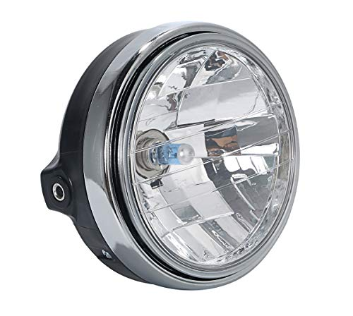 ヤマハ 用 マルチ リフレクター ヘッド ライト ランプ 純正タイプ XJR400/R 4HM RH02J RZ250R R1-Z 等 汎用 パーツ 社外品