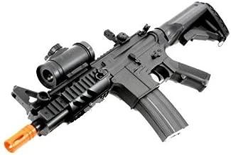 2011 315-fps Airsoft Rifle m16/m4 Style red dot Version 1 1 Double Eagle cqb 614 aeg Full auto Rifle Electric Airsoft Gun Airsoft Rifle Gun Assault Rifle Gun(Airsoft Gun)