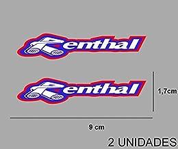 Azul QQ Studio Group Renthal Crossbar Protector de Manillar para ATV//Motocicletas 9.44