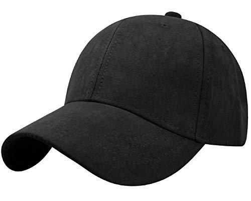 Tuopuda Cappellino Uomo con Visiera Cappello Unisex Berretto da Baseball Snapback Hip Hop cap per Donne e Uomini Trucker Hat Tinta Unita Taglia Unica
