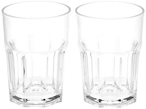 Gimex Caipi/Latte Glass Set of Two Camping Tableware
