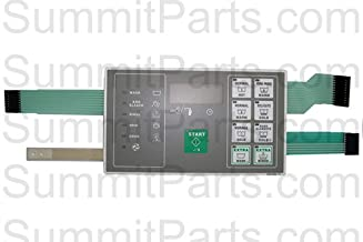 TOUCHPAD KEYPAD FOR HUEBSCH WASHER