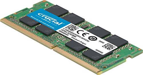 Crucial 4GB Single DDR4 2400 MT/S (PC4-19200) SR x8 SODIMM 260-Pin Memory –...