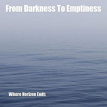 Where Horizon Ends