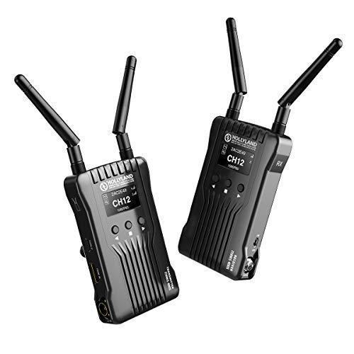 HOLLYLAND Mars 400S, SDI HDMI Videofunkstrecke Transmitter Empfänger Set, drahtlose Bildübertragung Wireless Image Transmission, 122m Abstand, APP-Monitor, 3 Szenenmodi, 1080P für DSLR Kamera