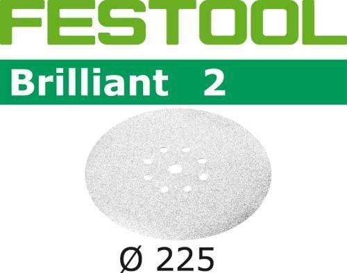Preisvergleich Produktbild Festool Schleifscheiben STF D225 / 8 P80 BR2 / 25 Brilliant 2 25 Stk