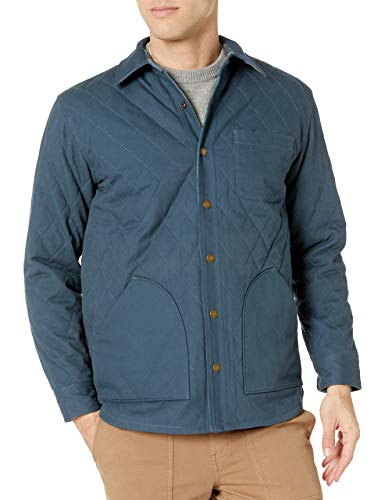 Pendleton Men's Reversible Canvas Jacket, Navy/Indigo Plaid-81779, MD