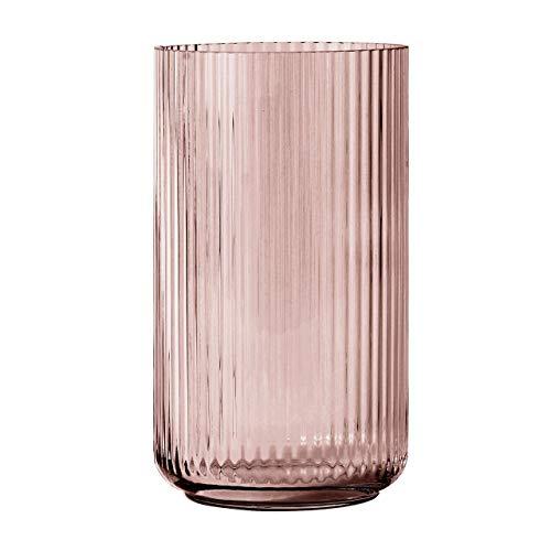 Lyngby Vase, Glas, 20,5 x 10,5 cm