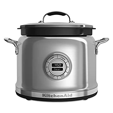 KitchenAid KMC4244SS Multi-Cooker with Stir Tower - Stainless Steel