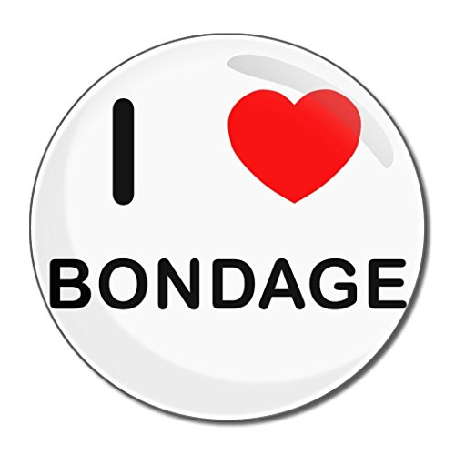 I Love Bondage - 77mm runder kompakter Spiegel